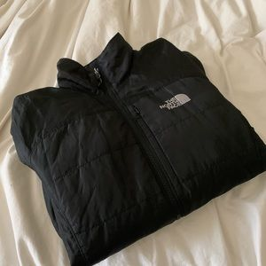 THE NORTH FACE Black Synthetic Puffy Jacket